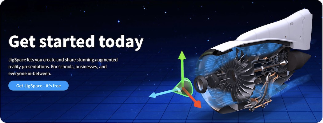 JigSpace - get started today banner 1050w