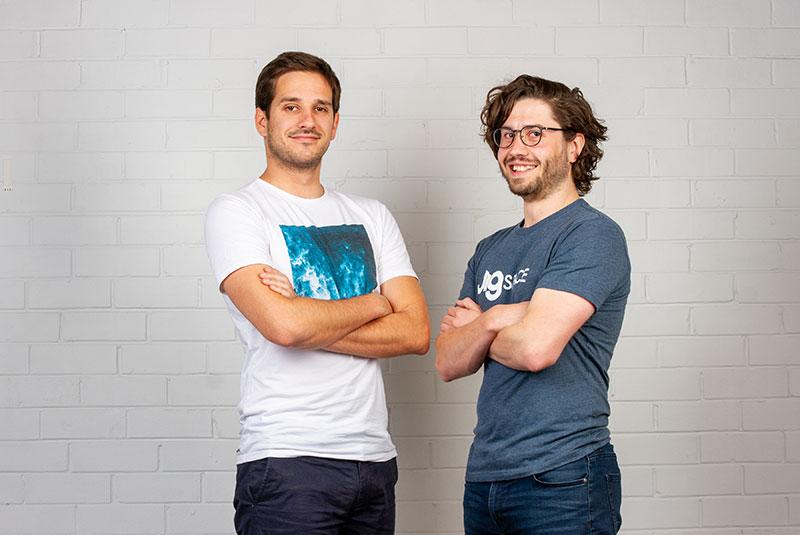 JigSpace Inc Co-founders Numa Betron and Zac Duff